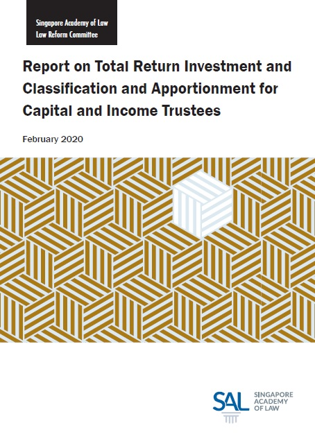 2020  Report on Total Return Investment And Classification And Apportionment For Capital And Income Trustees
